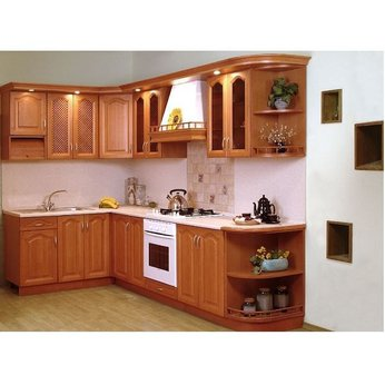 Tủ bếp gỗ Dổi 02