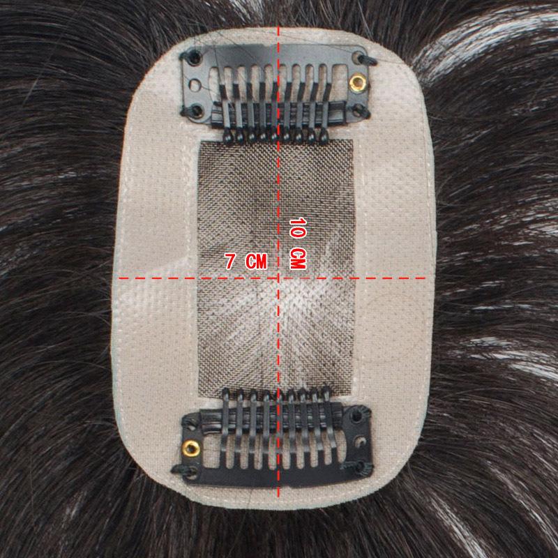 tóc giả mái hói nữ từ tóc thật