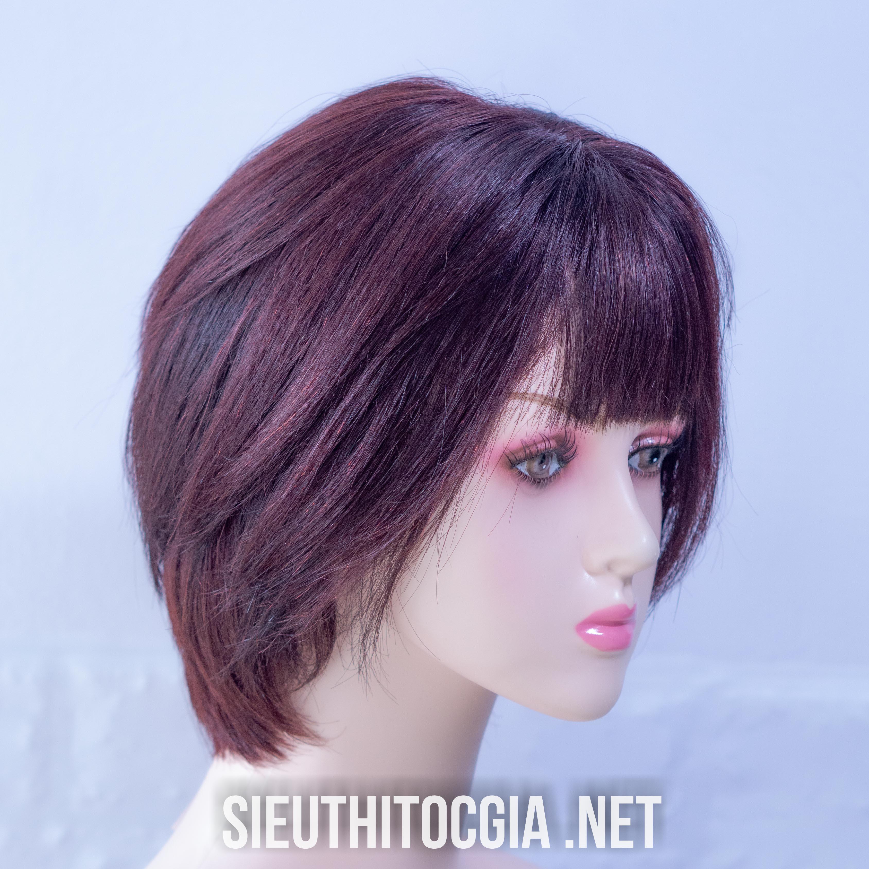 Tóc Giả Nữ Ngắn Thật 100% - 310