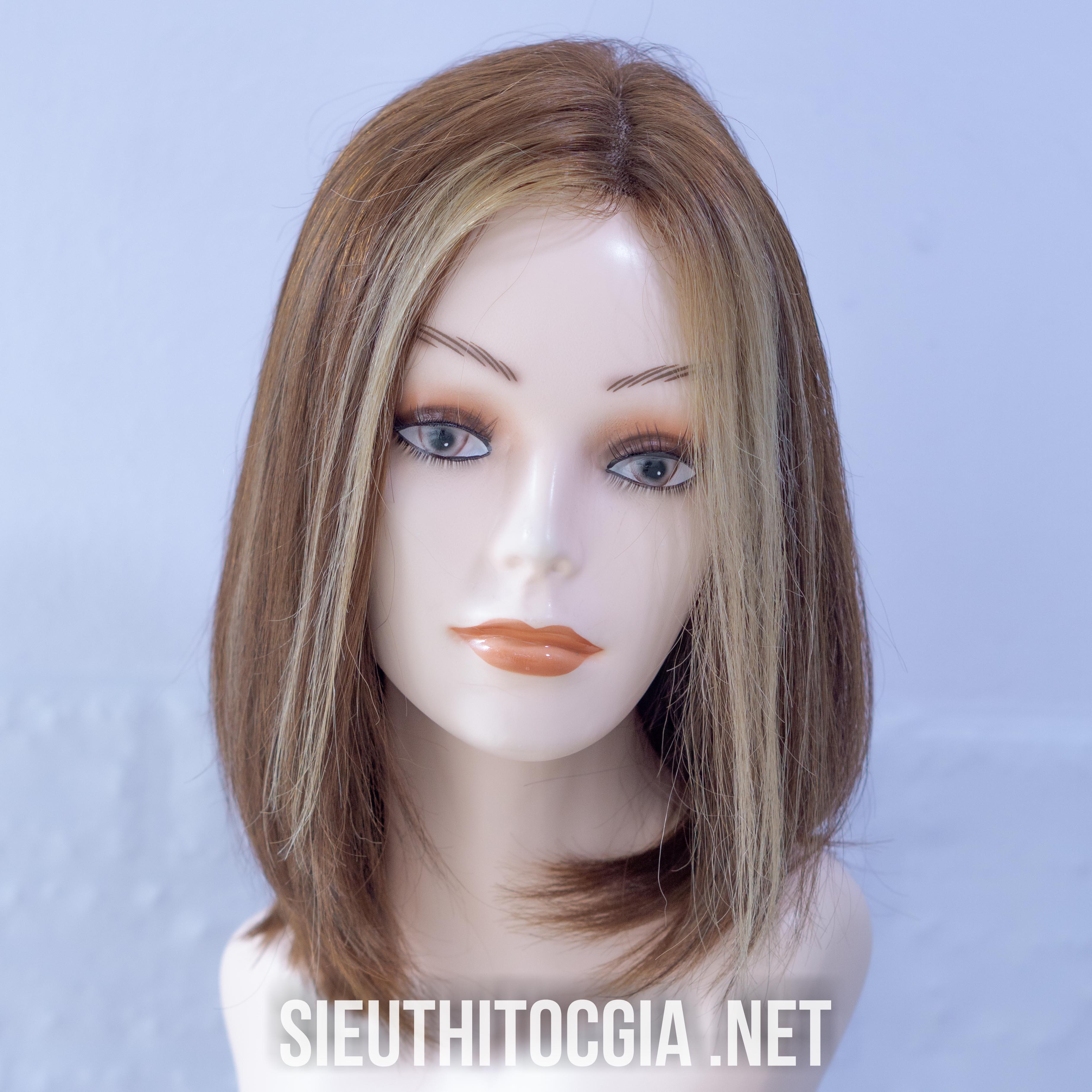 Tóc Giả Nữ Ngắn Thật 100% - 400