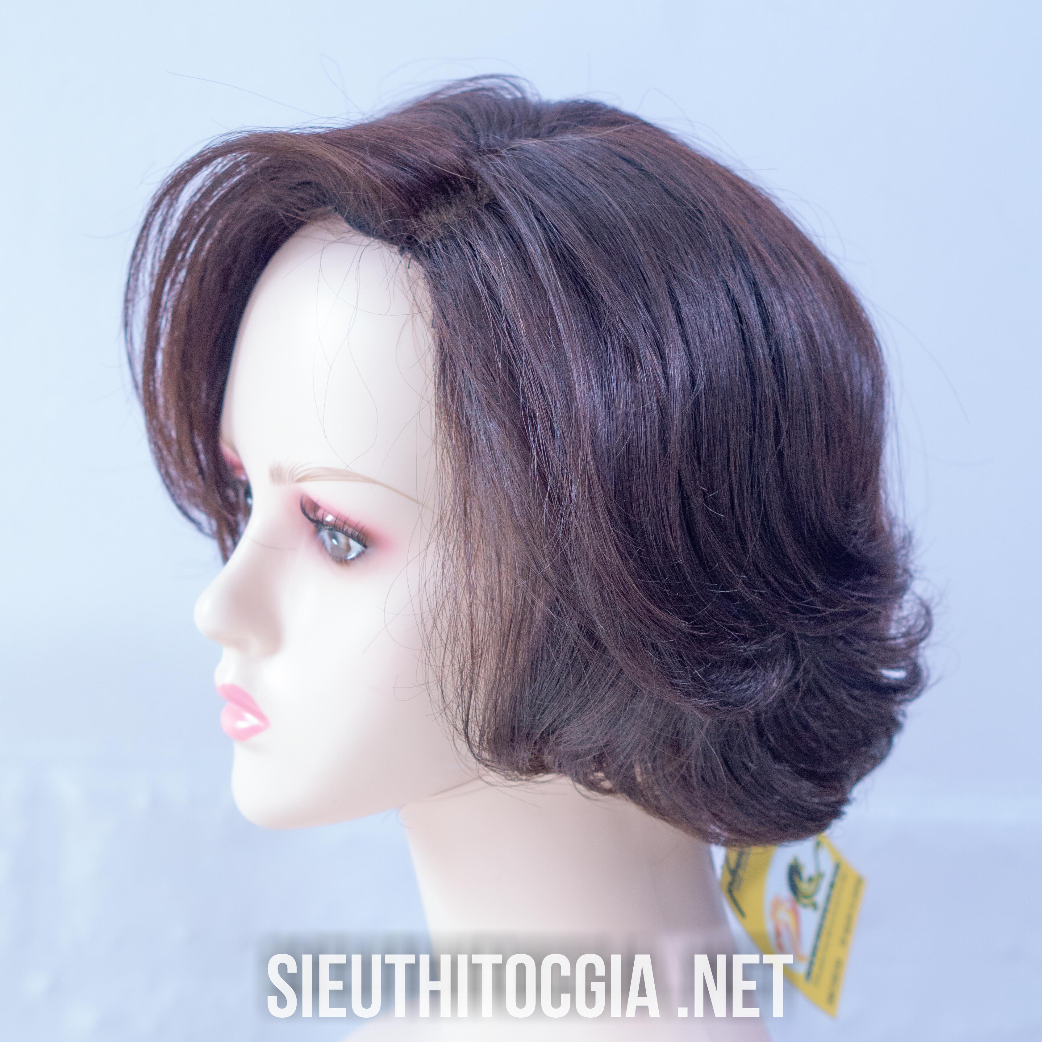 Tóc Giả Nữ Ngắn Thật 100% - NN34