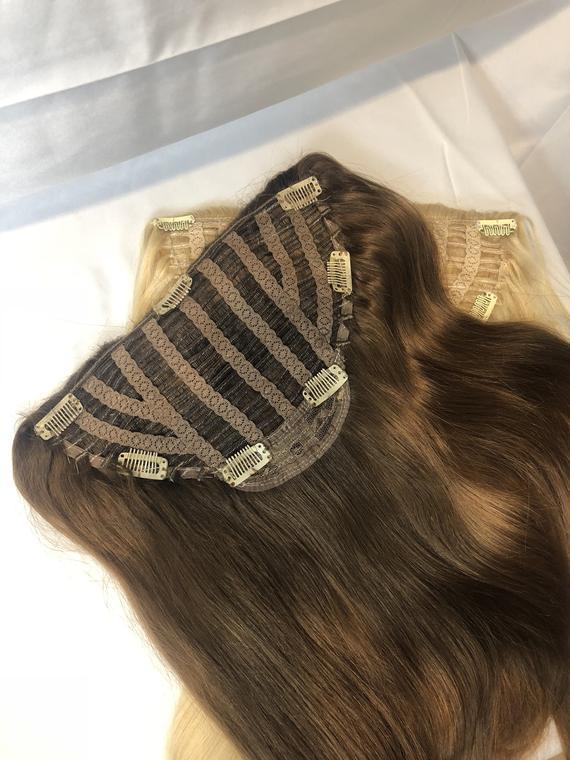 Tóc kẹp nửa đầu