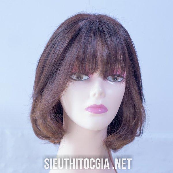 Tóc Giả Nữ Ngắn Thật 100% - 340