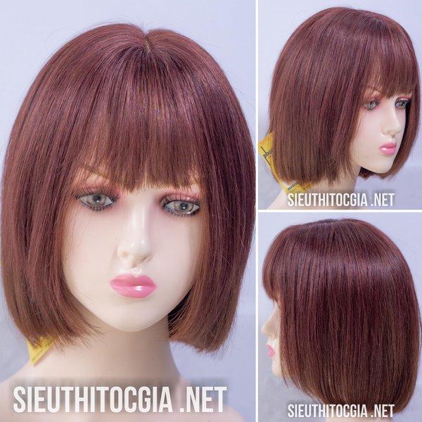 Tóc Giả Nữ Ngắn Thật 100% - 3400