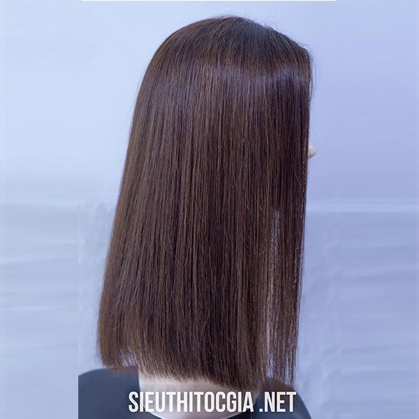 Tóc Giả Nữ Lở 40cm Thật 100% - 340