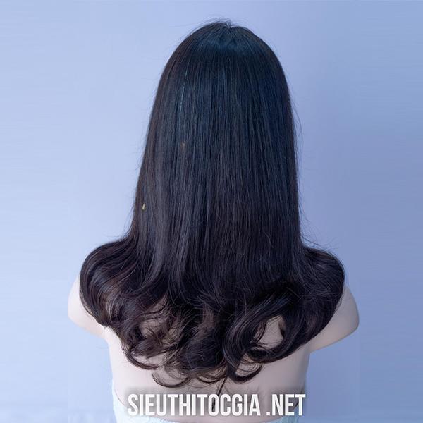 Tóc Giả Nữ Dài 60cm Thật 100%