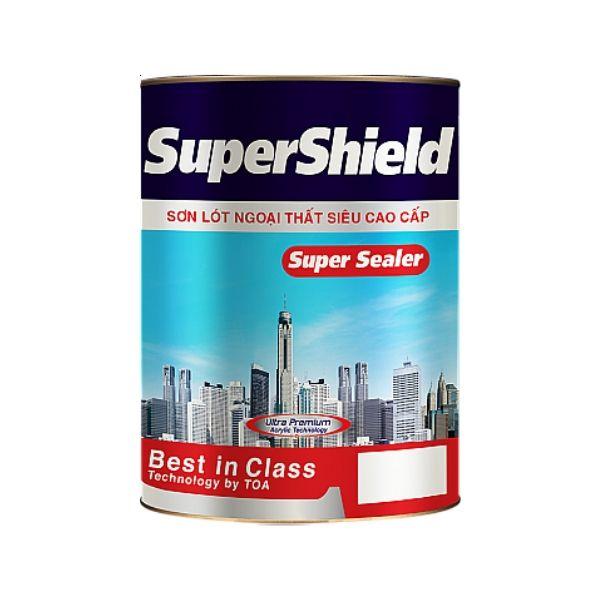 Sơn nước ngoại thất TOA Supershield Bóng