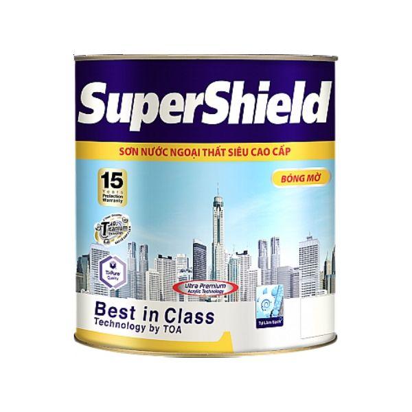 Sơn nước ngoại thất TOA Supershield Mờ