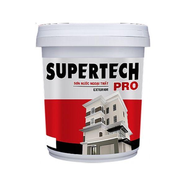 Sơn nước ngoại thất TOA Supertech