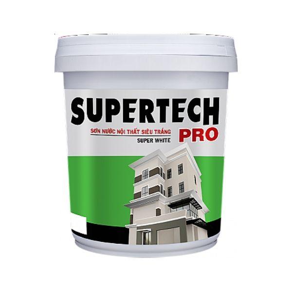 Sơn nước nội thất Toa Supertech Pro Trắng