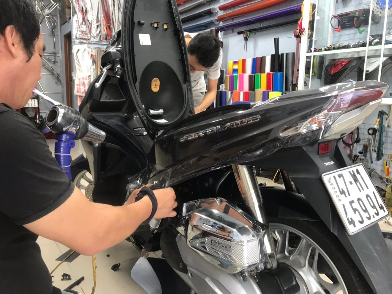 Dán keo xe Airblade 2015-2019