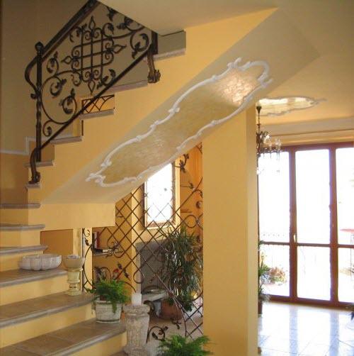 Cầu thang sắt rèn nghệ thuật