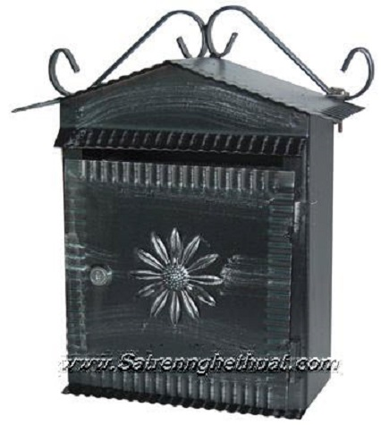 Wrought Iron Wall Box Beautiful