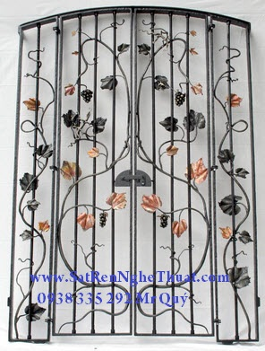 Wrought Iron Frame Art Protection