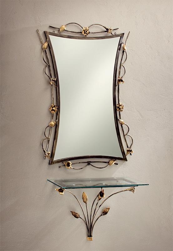Khung gương sắt rèn nghệ thuật