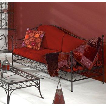 Bộ bàn ghế sofa sắt rèn mỹ thuật BGNT009