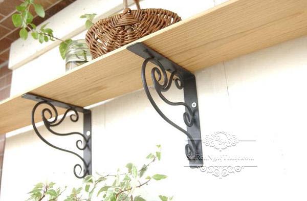 Eke decorative wrought iron art
