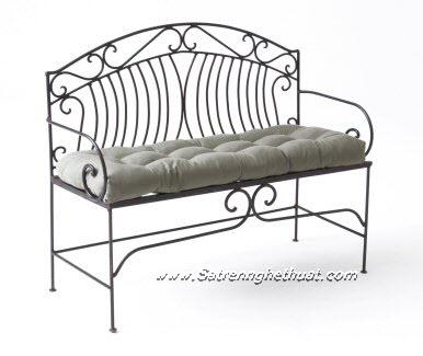 Chairs Wrought Iron Garden Art GSV007