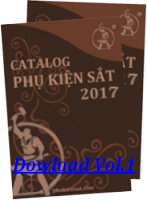 Catalogue Dong An Wrought Iron Accessories V.1 2017