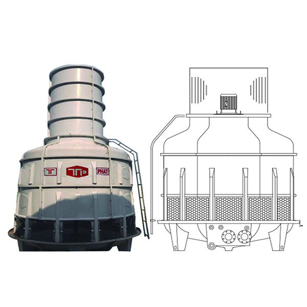 Tháp giải nhiệt TPN 70RT~125RT