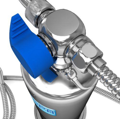 Máy tắm tạo ion khoáng Anespa DX
