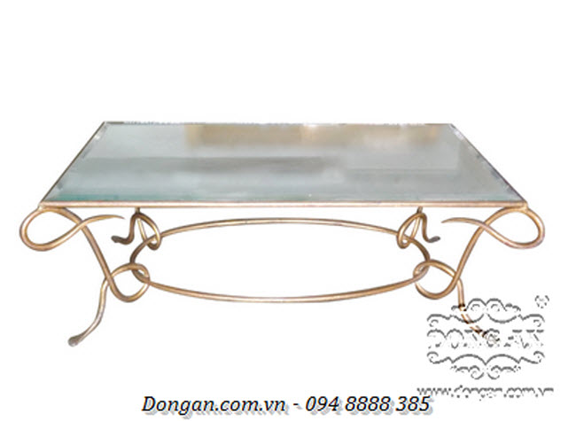 Rene Drouet Gilded Cocktail Table