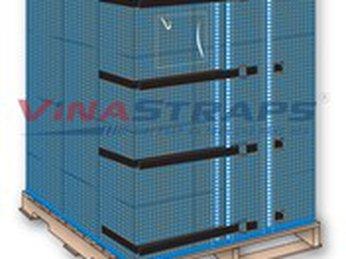 Phát triển ý tưởng dùng lưới pallet tái sử dụng thay thế màng PE - Bảo vệ môi trường