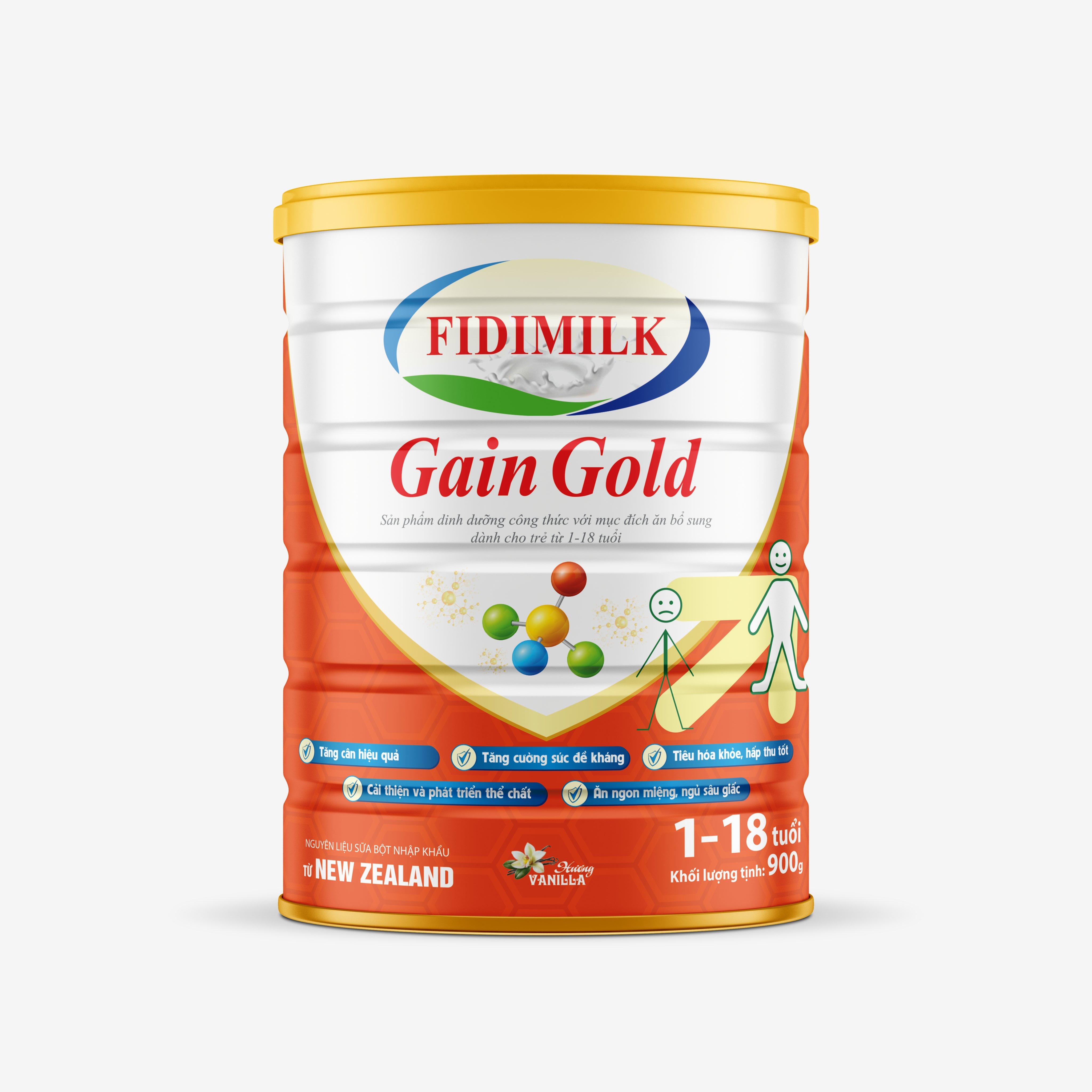 SỮA BỘT FIDIMILK GAIN GOLD