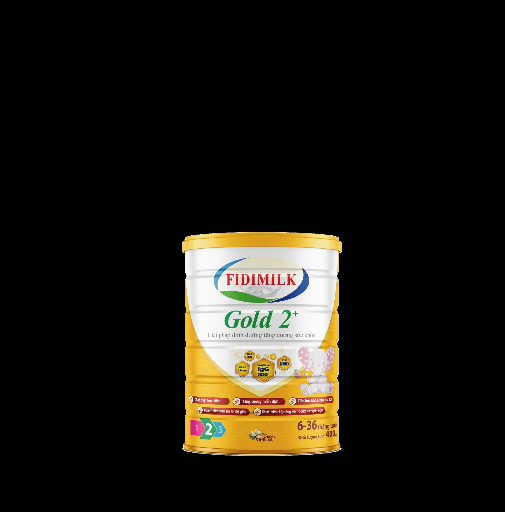SỮA BỘT FIDIMILK GOLD 2+ 400G