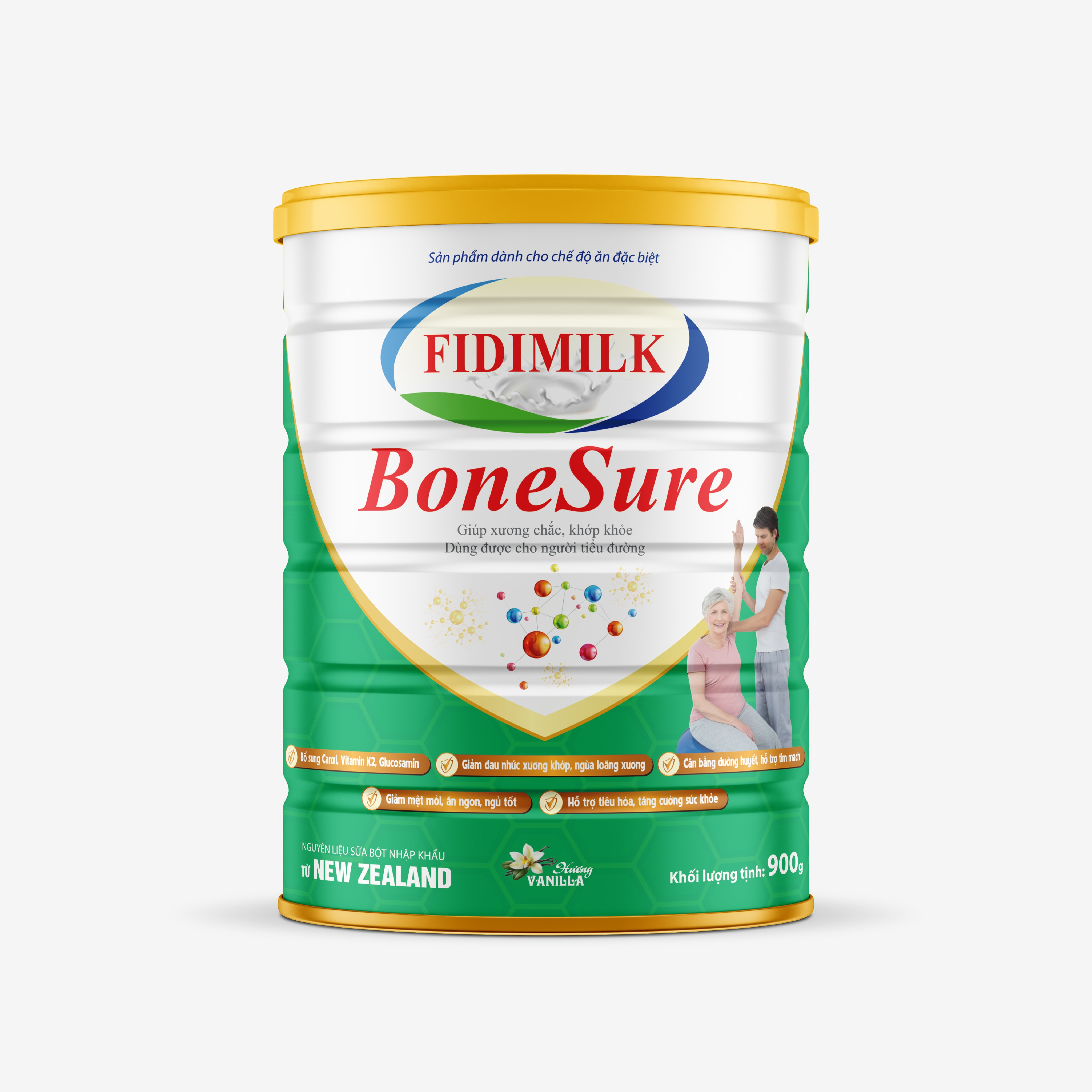 SỮA BỘT FIDIMILK BONESURE 900G