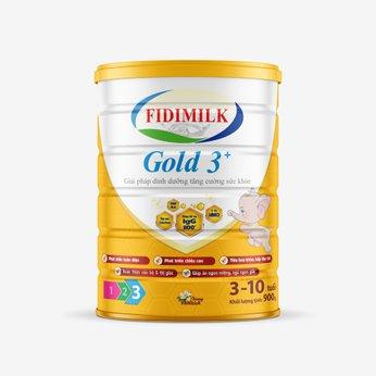 SỮA BỘT FIDIMILK GOLD 3+ 900G