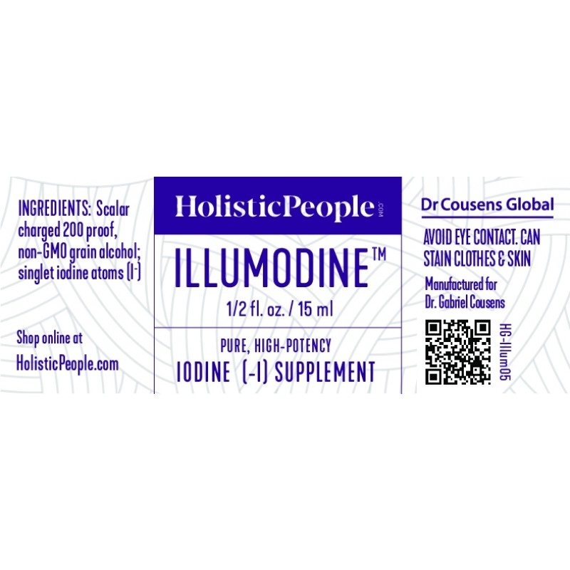 Illumodine | Iodine Supplement, 0.5 fl. oz.