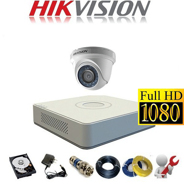 TRỌN BỘ CAMERA HIKVISION 1M  HD720P