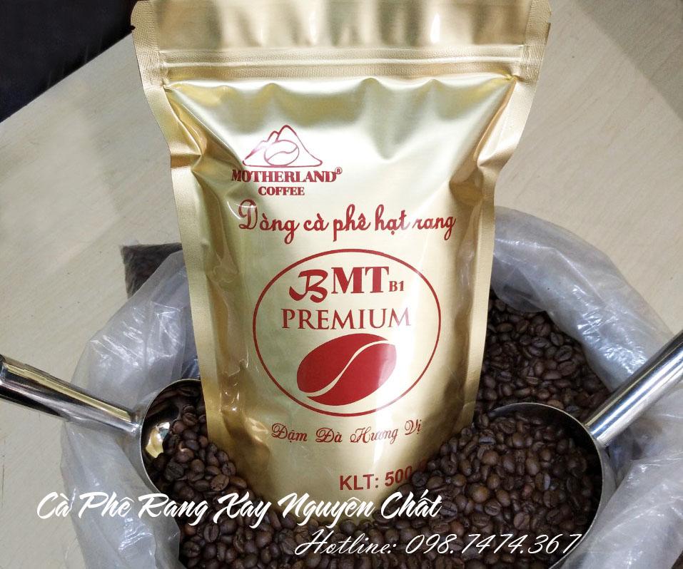 Cà phê rang xay pha phin Motherland Bmt gói 500g