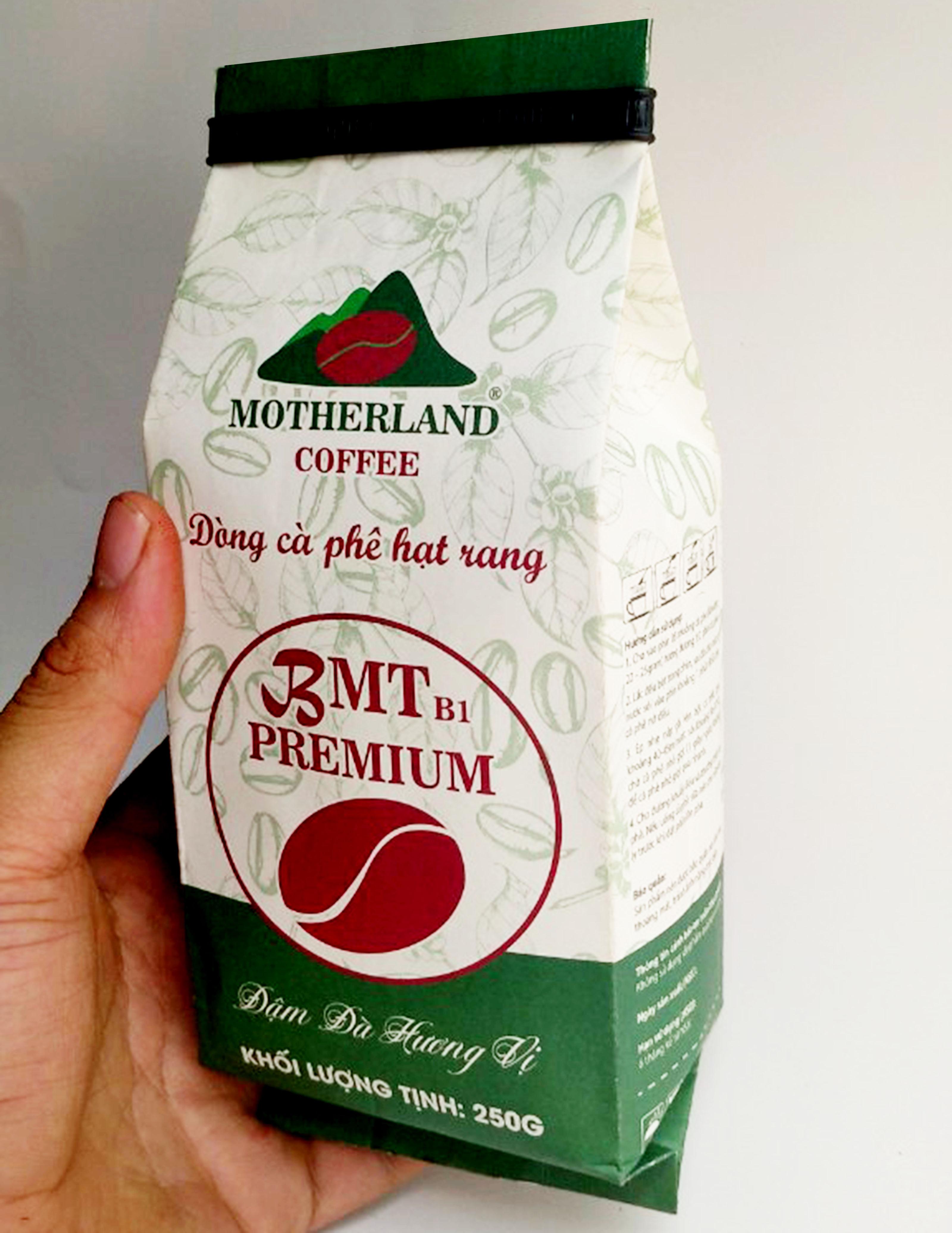 Cà phê rang xay pha phin Motherland gói 250g