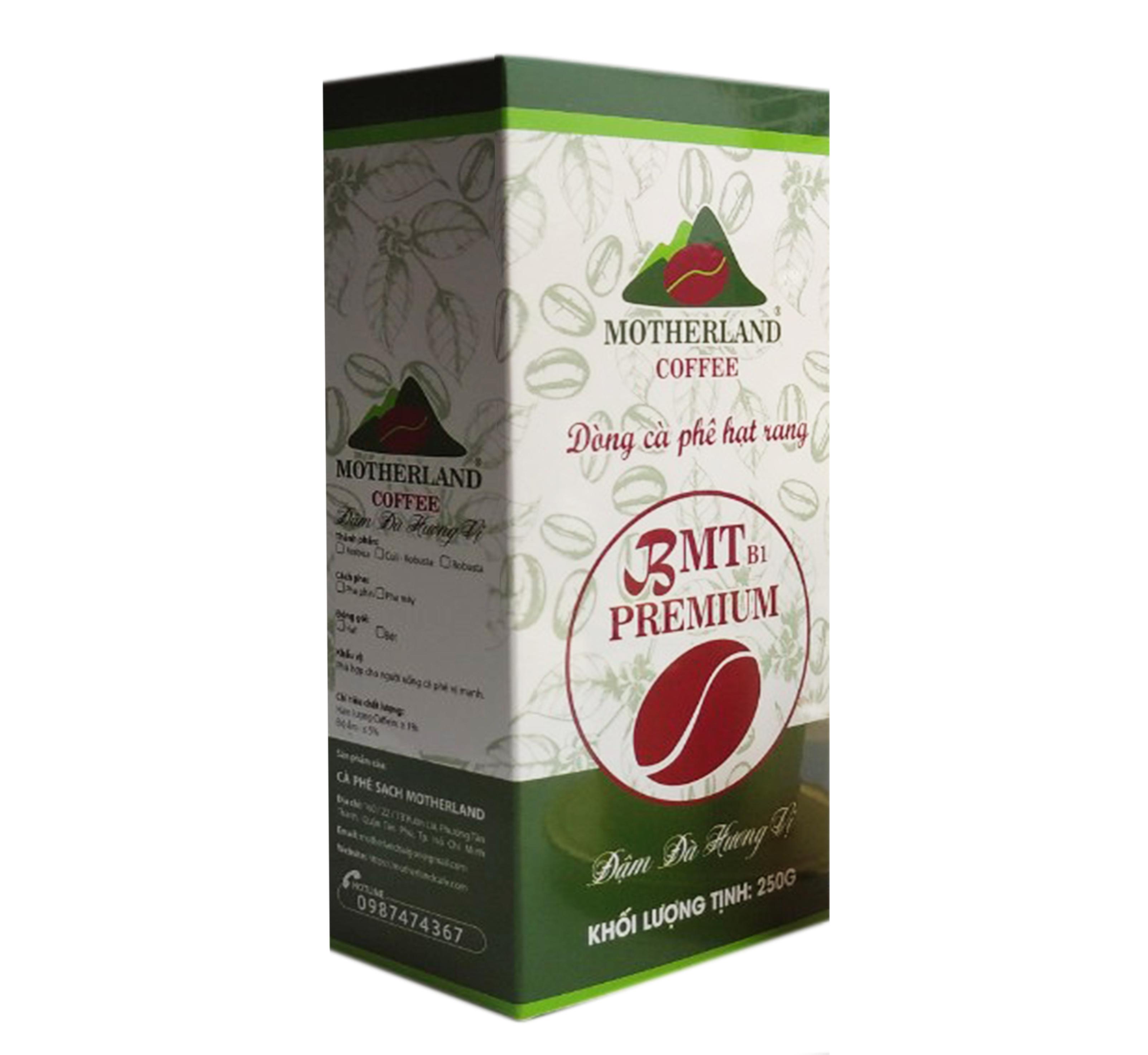 Cà phê robusta rang xay loại 1 gói 250g