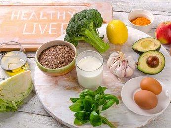 Top 10 Loại thực phẩm giúp đẩy lùi bệnh gan nhiễm mỡ