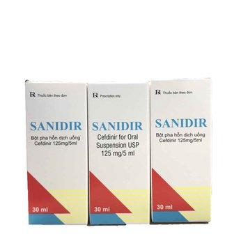 SANIDIR Kháng sinh điều trị nhiễm khuẩn