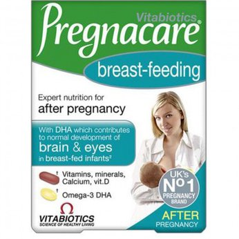 PREGNACARE BREAST-FEEDING VITAMIN TỔNG HỢP CHO PHỤ NỮ SAU SINH