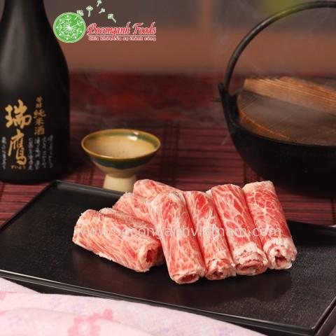 Thịt Bò Fuji Nhúng Lẩu