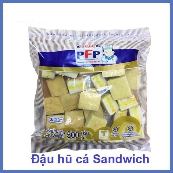 Đậu hũ cá Sandwich