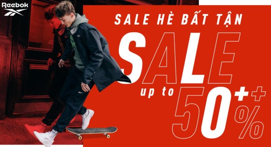 Flash Sales 50% Thời Trang Reebok