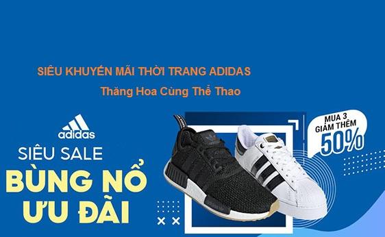 Flash Sales Tới 20% Thời Trang Adidas