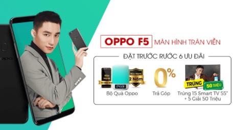 Điện thoại OPPO Khuyến Mãi 50%