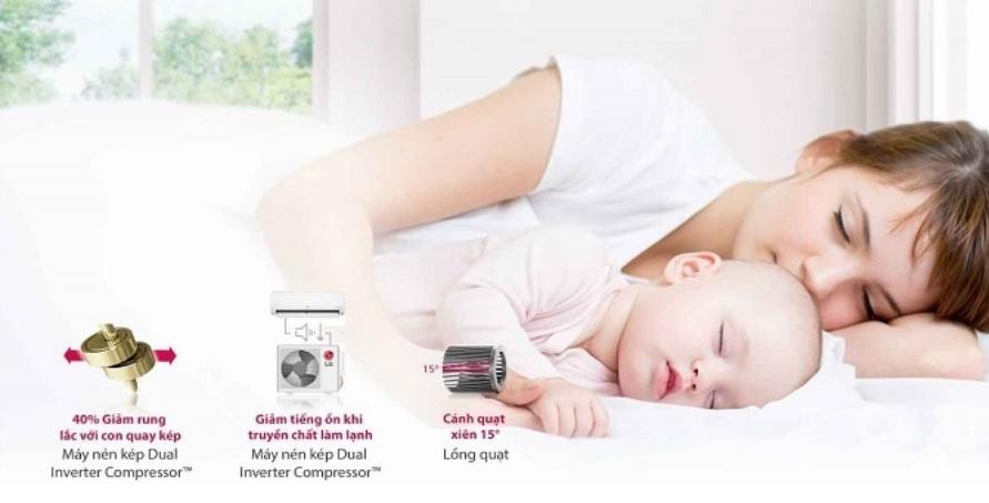 Máy lạnh LG Inverter 1.5 HP giá rẻ nhất