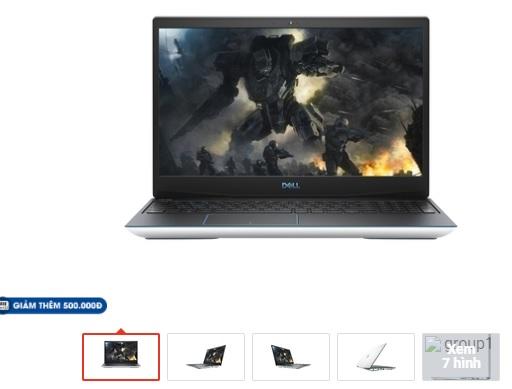 Máy tính xách tay Laptop Dell chính hãng giá sinh viên