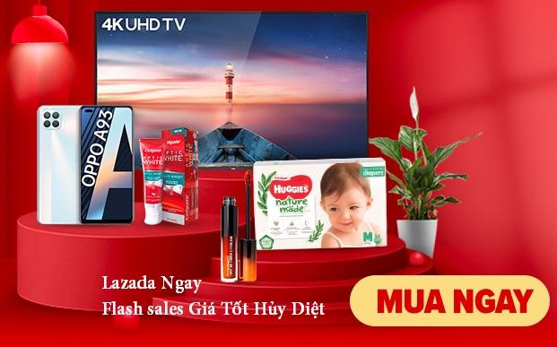 Lazada Flash Sales Giá Hủy Diệt