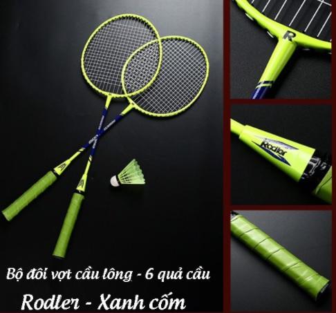 Bộ vợt cầu lông cao cấp  bao rẻ 2 vợt chỉ 145k