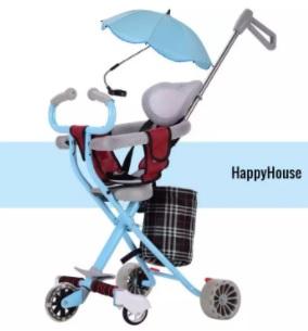 Xe đẩy trẻ em cao cấp mẫu mới