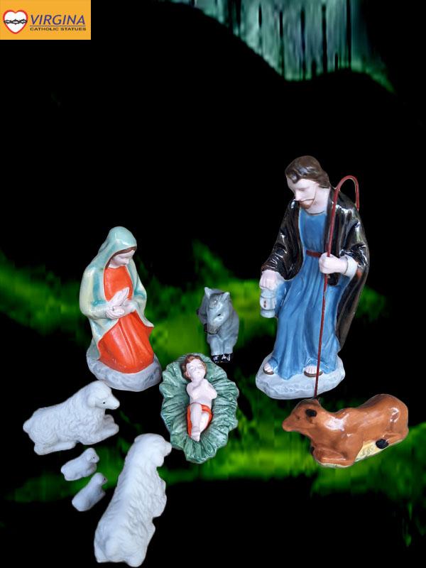 Tượng Noel sứ 15cm